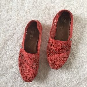 Embroidered TOMS